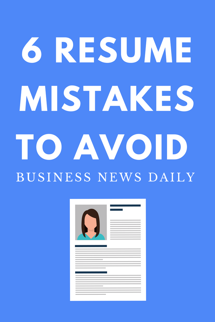 26 Common Resume Mistakes That Will Lose You The Job Good Resume Examples Sample Resume Templates Good Objective For Resume