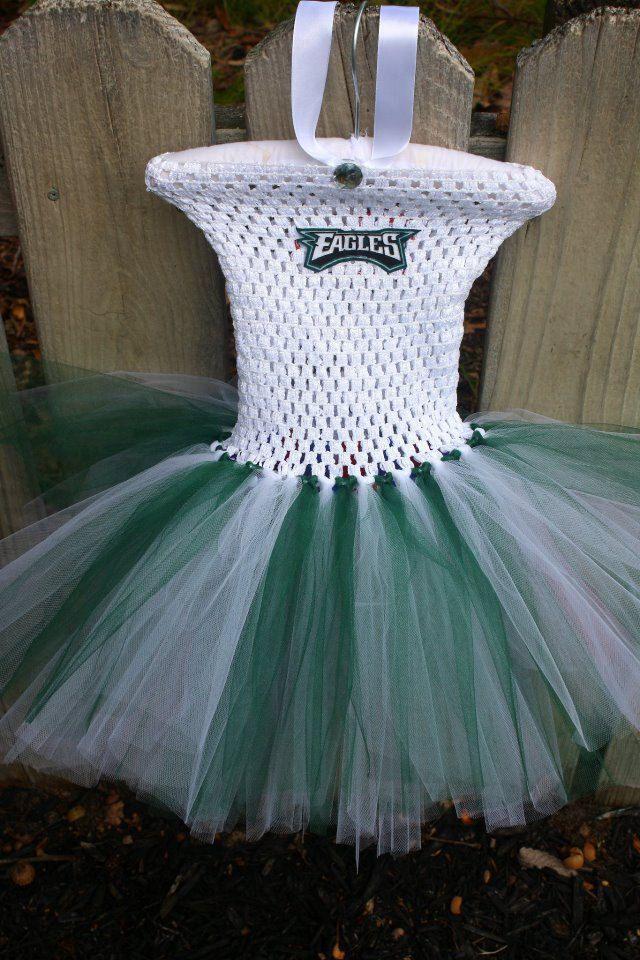 Philadelphia Eagles Tutu Dress By Mkstutus On Etsy 35 00