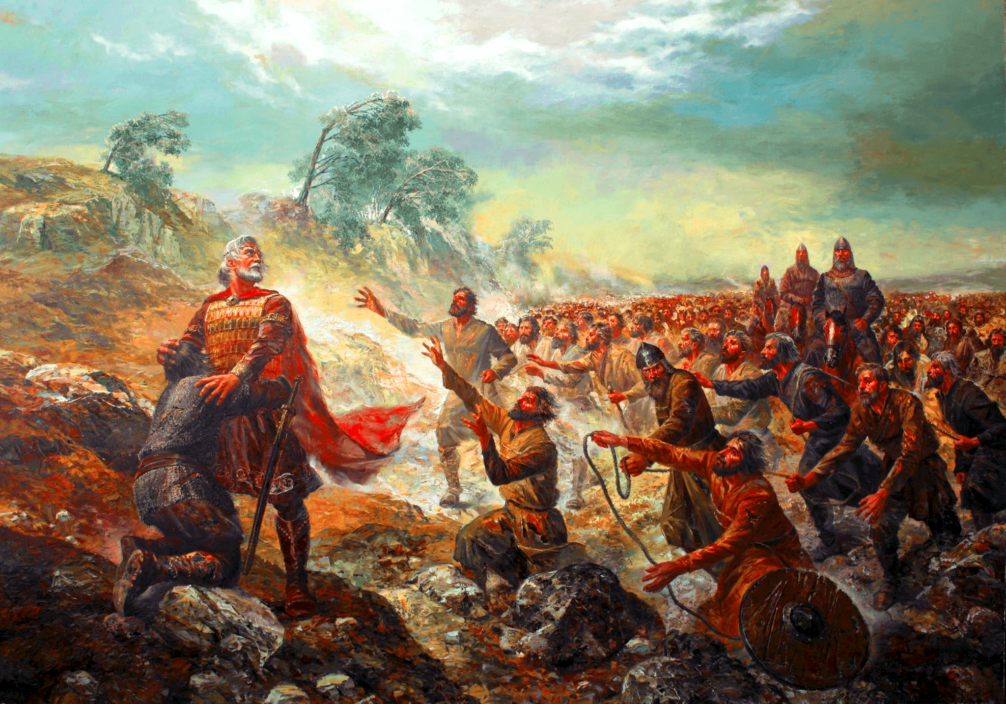 Battle Of Kleidion Decisive Victory Over The Bulgarians