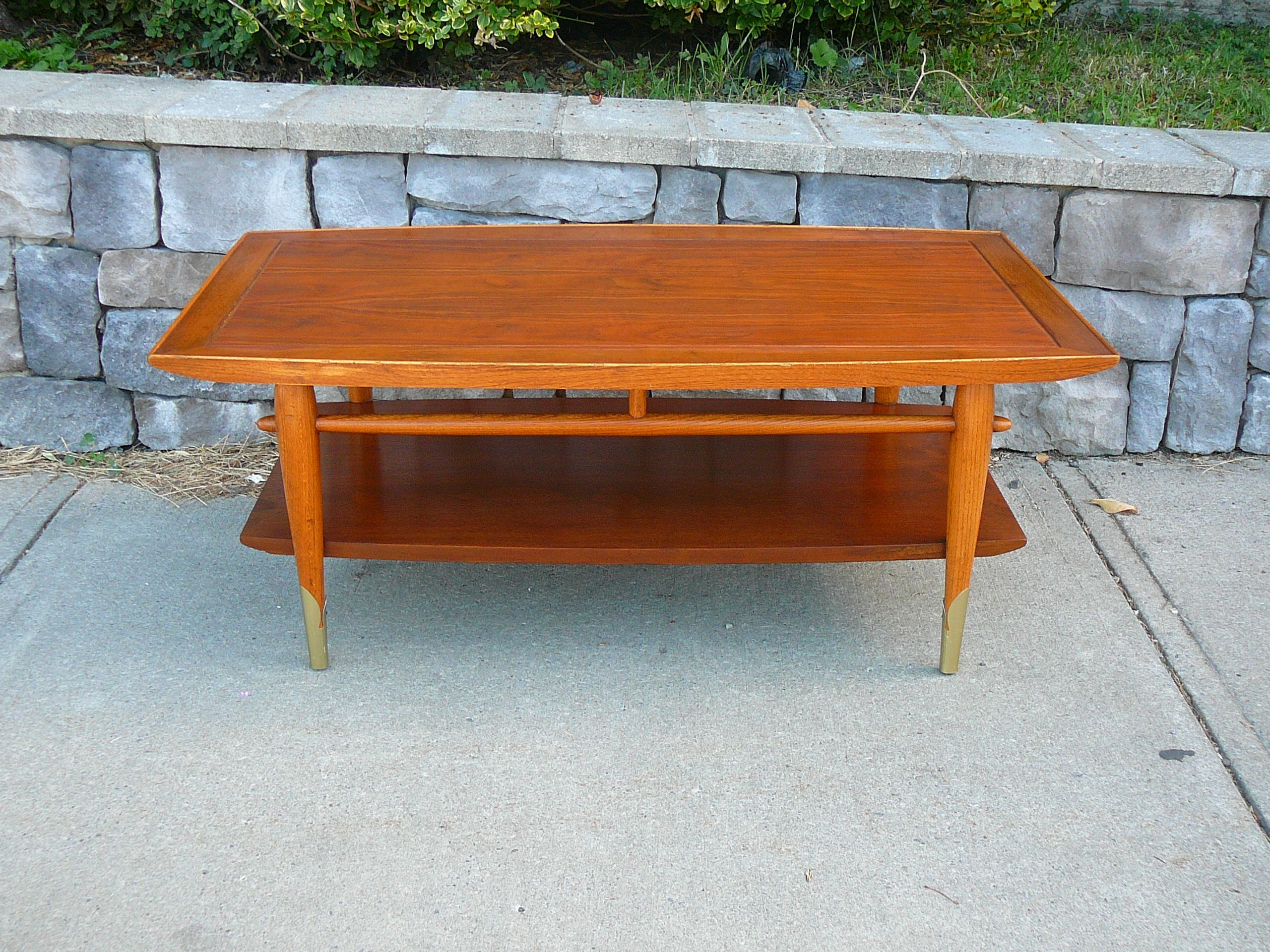 "Lane ""Copenhagen"" danish style coffee table circa 1956 Stunning"