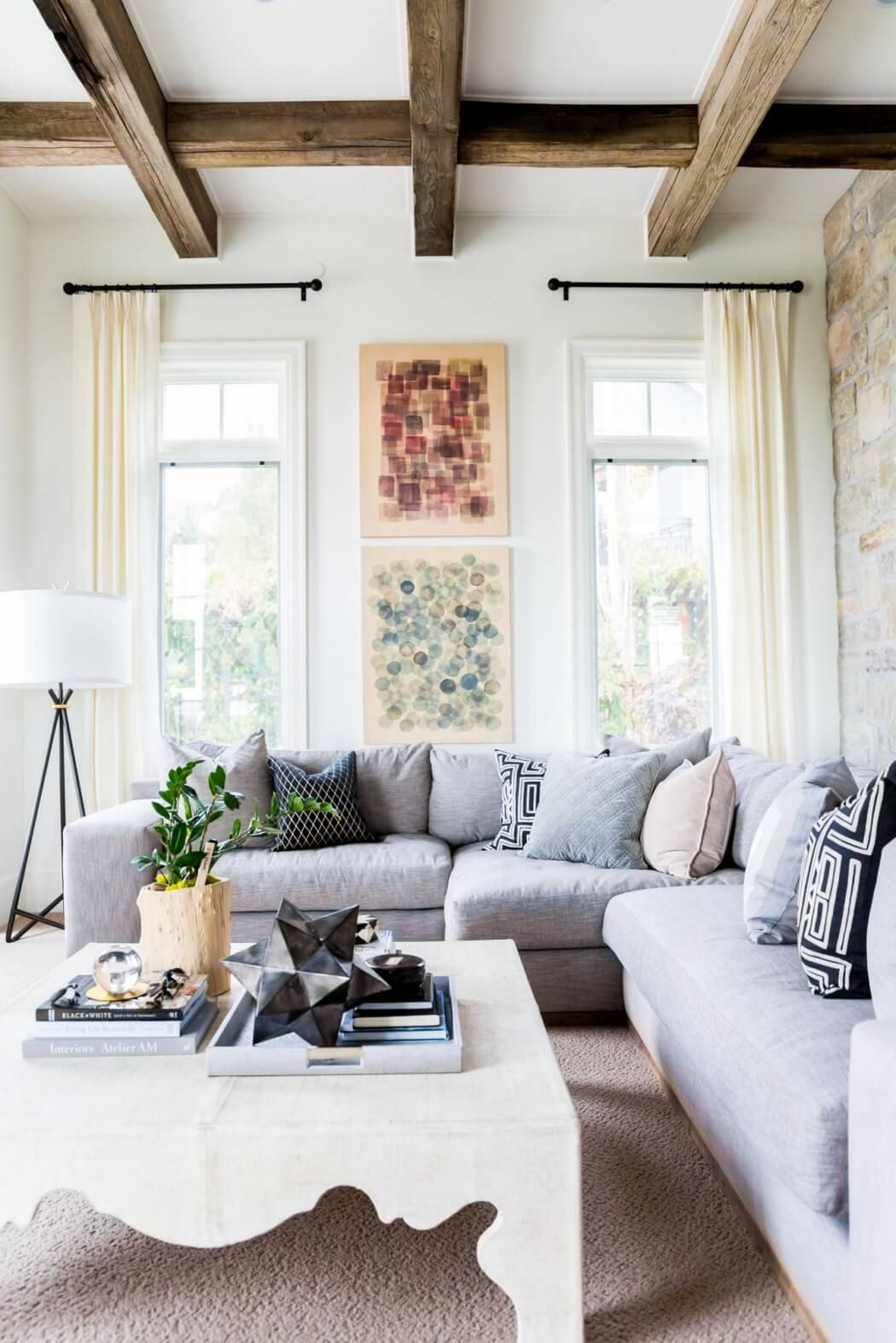Hawkins Hometonya Olsen  Homeadore  Living Spaces Custom Wood Design Living Room Design Ideas