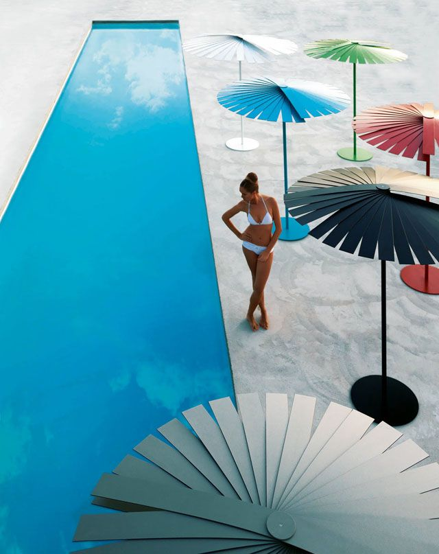 stardust modern design: Patio and Swimming Pool Umbrella Sunshades ...