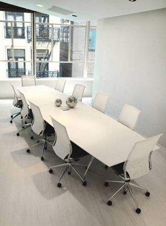 Miraculous White Modern Large Conference Table In 2019 Conference Squirreltailoven Fun Painted Chair Ideas Images Squirreltailovenorg