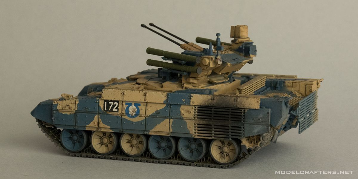 Russian Fire Support Combat Vehicle Terminator 1:72 Zvezda 5046