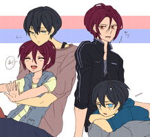 Free! Rin and Haru