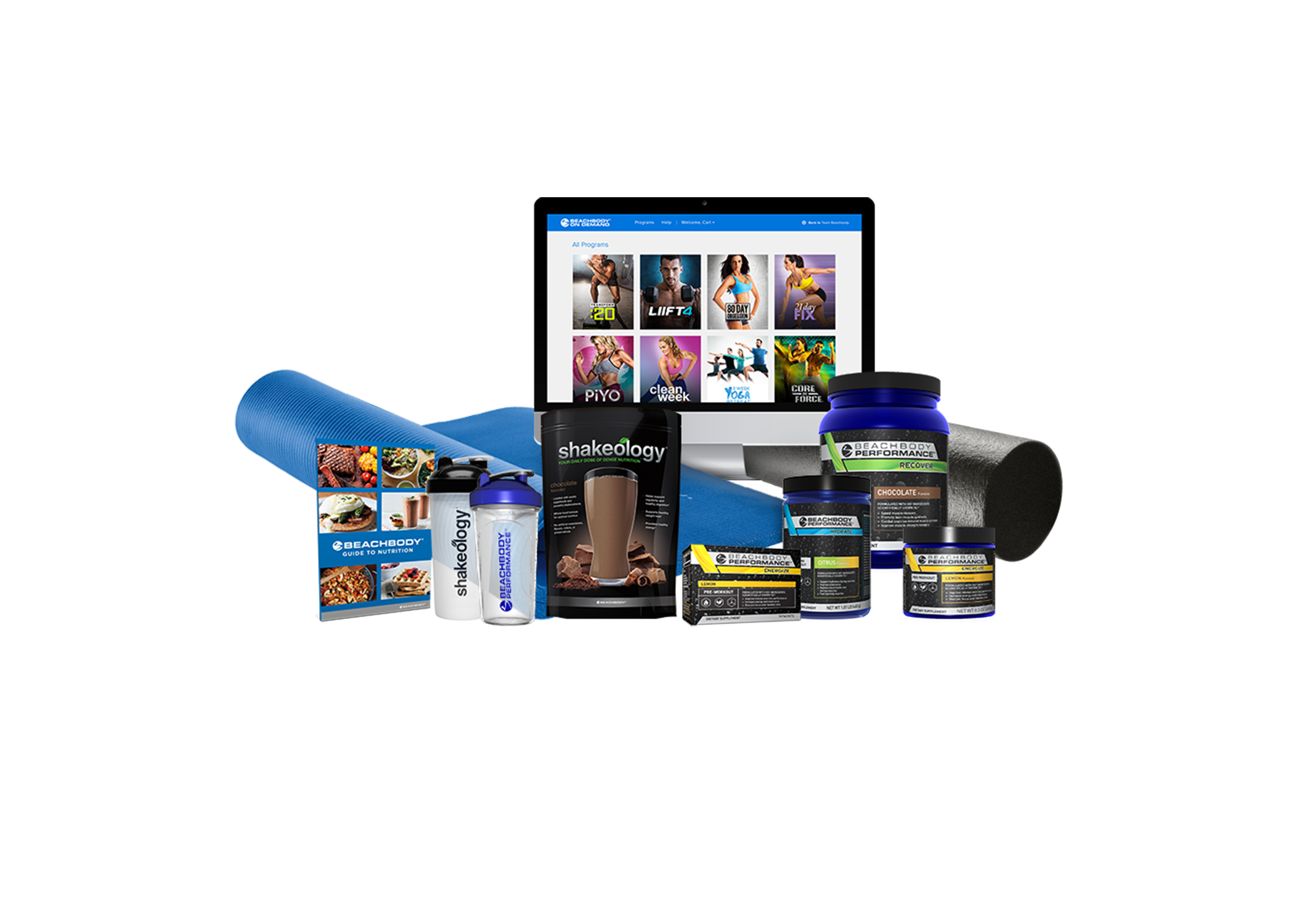 Access Beachbody On Demand on a laptop, tablet, or