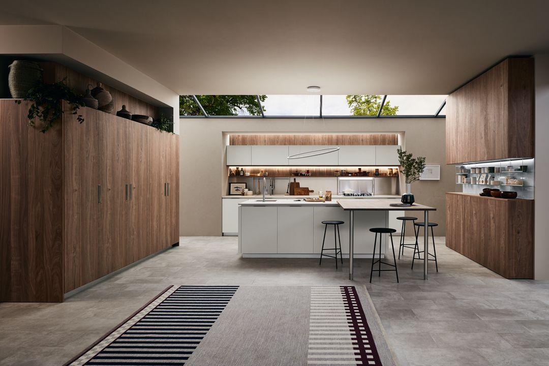 Catalogo Veneta Cucine 2020.Lounge L Innovativo Sistema Cucina Firmato Veneta Cucine