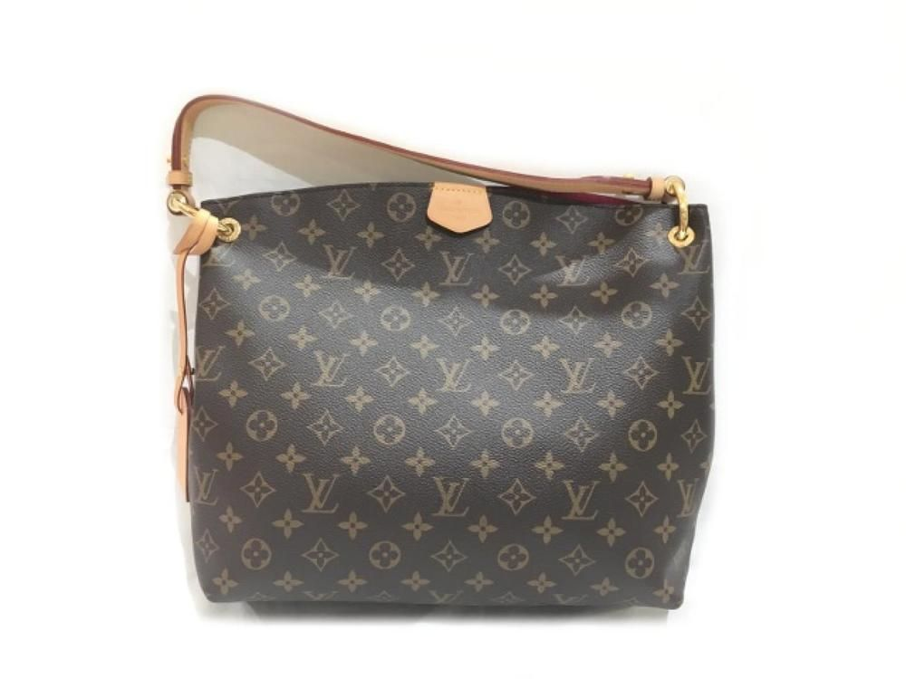 Louis Vuitton Graceful Pm Shoulder Hobo Bag M43700 Monogram Used