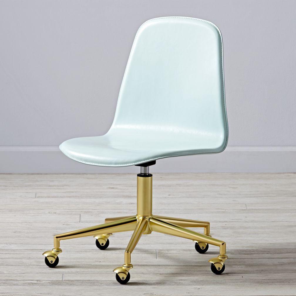 Class Act Mint Gold Desk Chair Shop class Desks and Room
