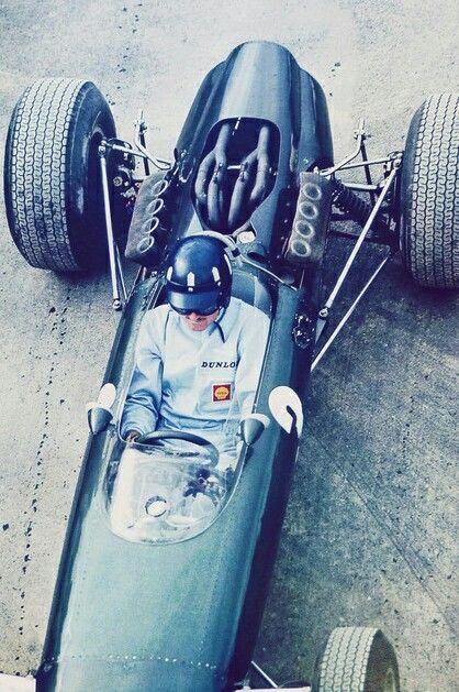 #3 Graham Hill...Owen Racing Organisation... BRM P261...Motor BRM P60 V8 1.5...GP Estados Unidos 1965