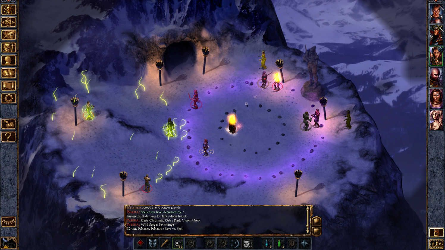 Baldur's Gate Enhanced Edition on Bubble games