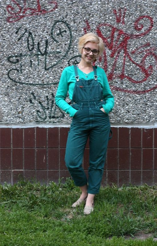 2a73b1816526727 Обновление джинсового комбинезона / Переделка джинсов / Своими руками -  выкройки, переделка одежды, декор