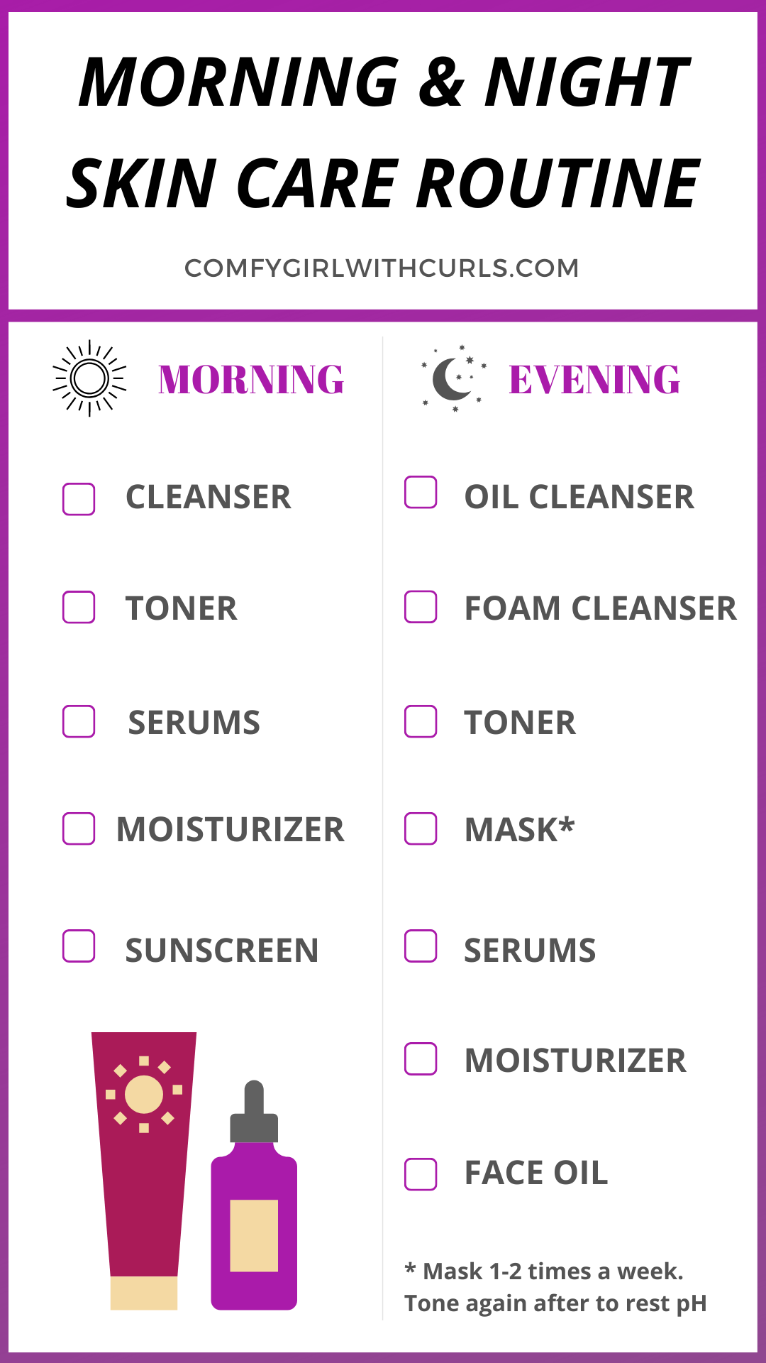 The Consistent Routine That Cleared My Skin Steps For Morning Night Night Skin Care Routine Skin Care Routine Steps Skin Routine