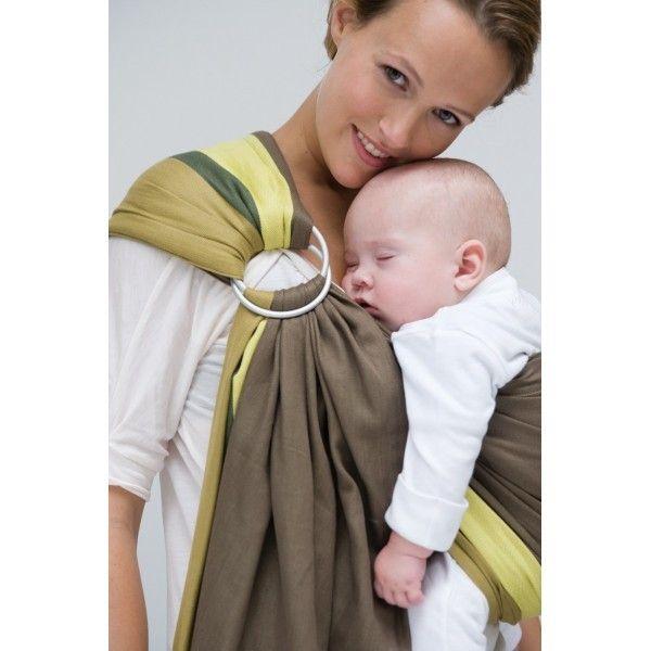 BB Sling Babylonia Maman Autrement Portage Babywearing - Porte bébé sling
