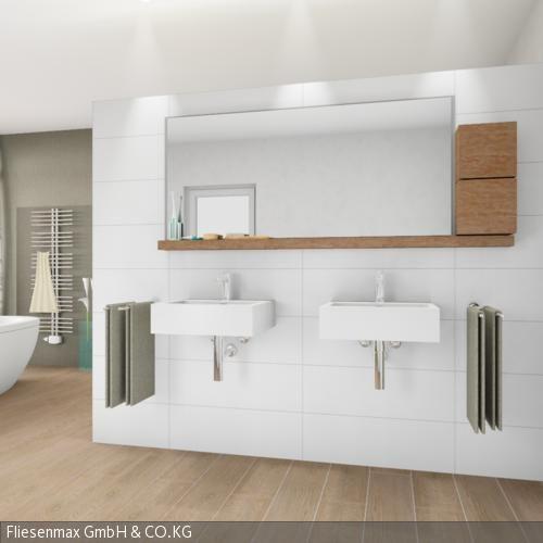 Fliesen in Holzoptik Holzfliesen, Ästhetisch und Laminat - parkett im badezimmer