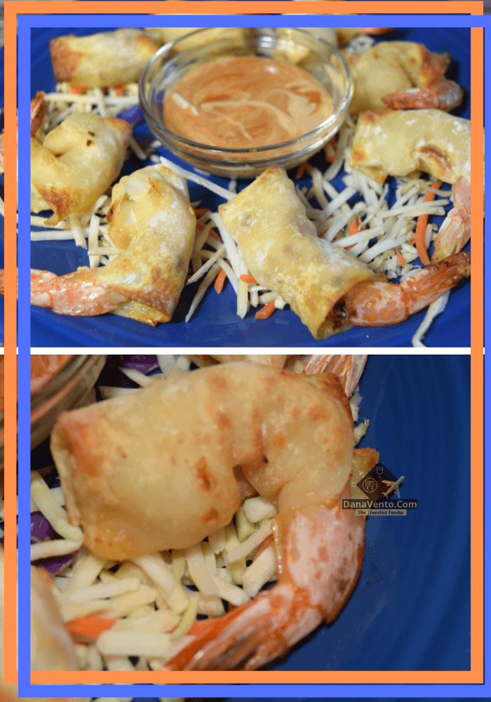 Air Fryer Firecracker Shrimp In Wonton Wrappers
