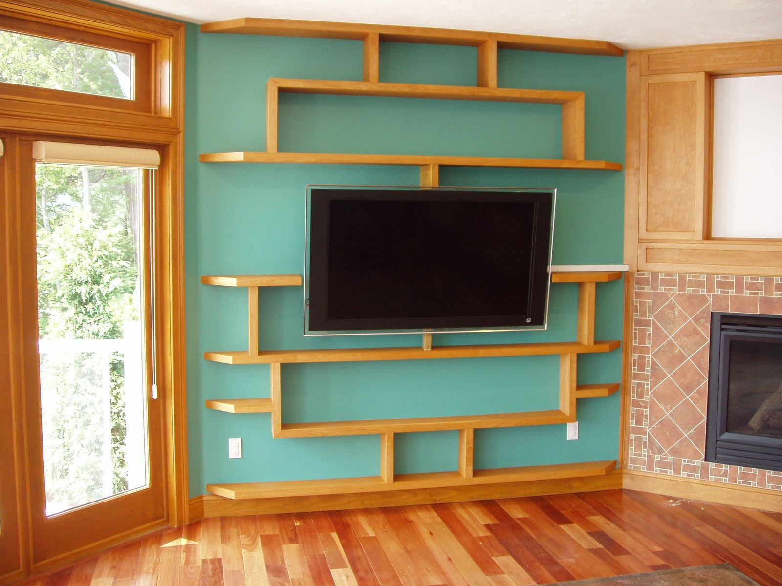 living room wall cabinets built%0A cool custom entertainment center wall of shelves