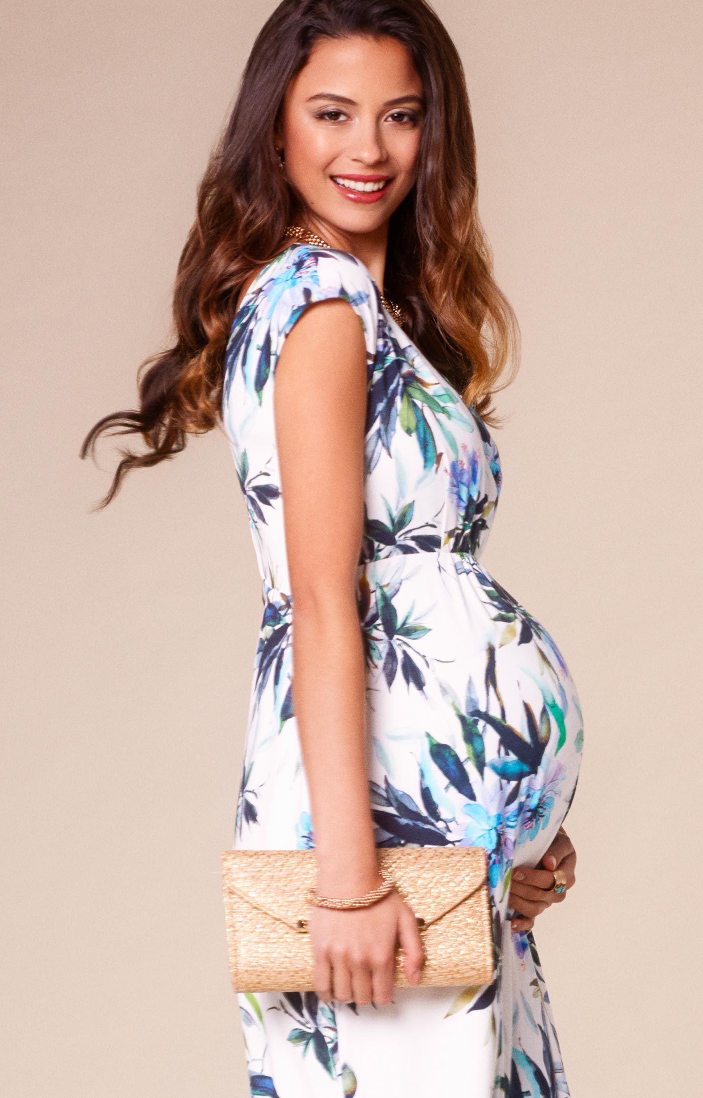 d9d7db7a212a8 Alana Maternity Maxi Dress Inky Tropics by Tiffany Rose | Fashion ...