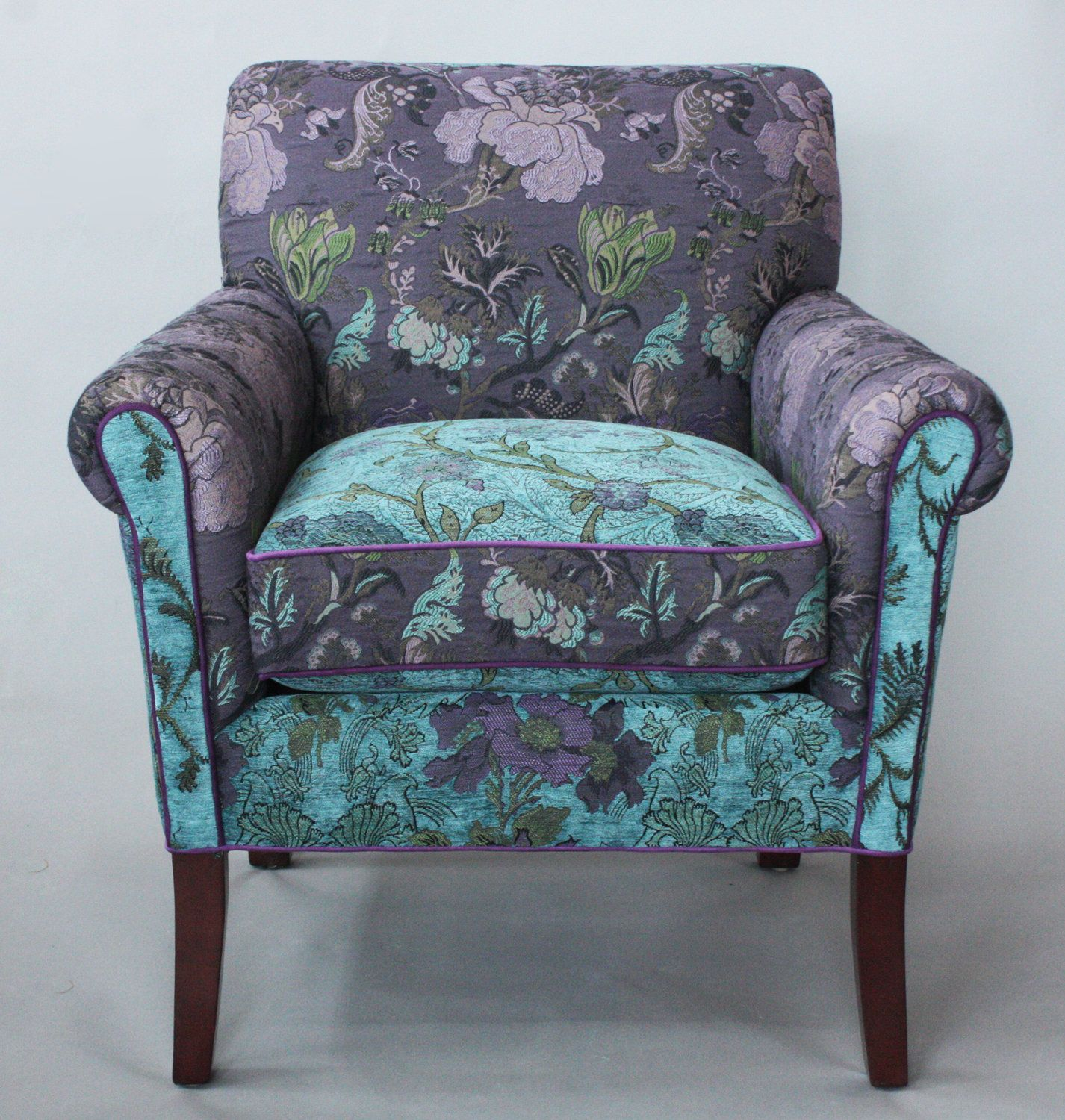 Lavender Chair Salon Chair In Lavender Vine By Mary Lynn Oshea