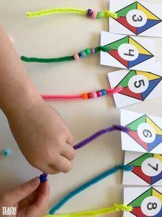 Kite Themed Preschool Math