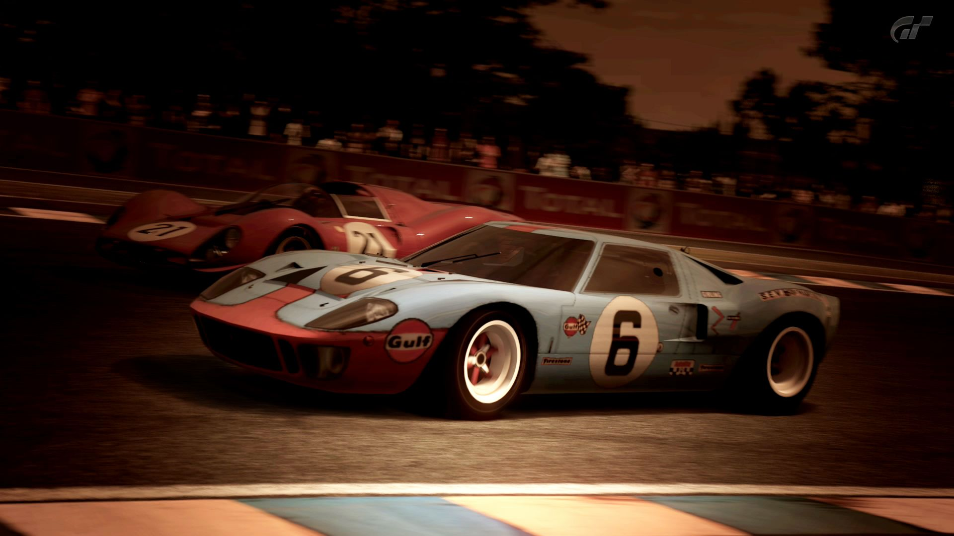 Ford Gt40 Wallpaper Gulf With Images Ford Gt40 Gt40 Ford Gt