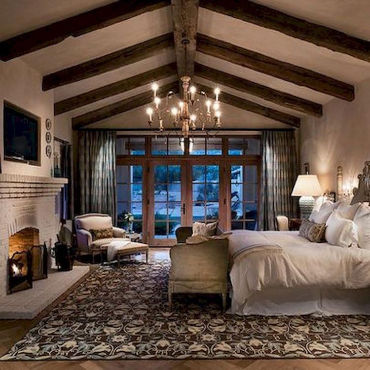 80 admirable farmhouse rustic master bedroom design ideas future rh pinterest com