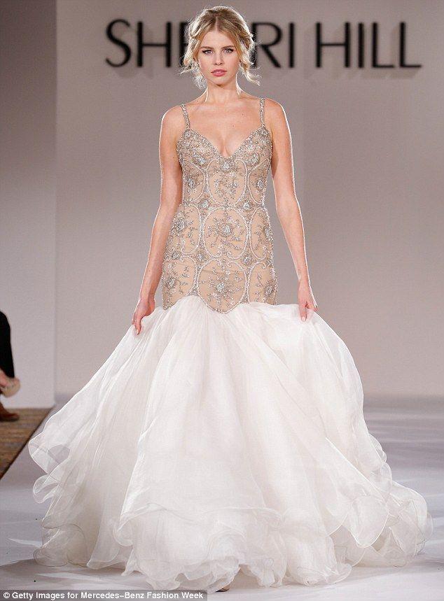 tegan martin dons stunning sherri hill gown for new york fashion