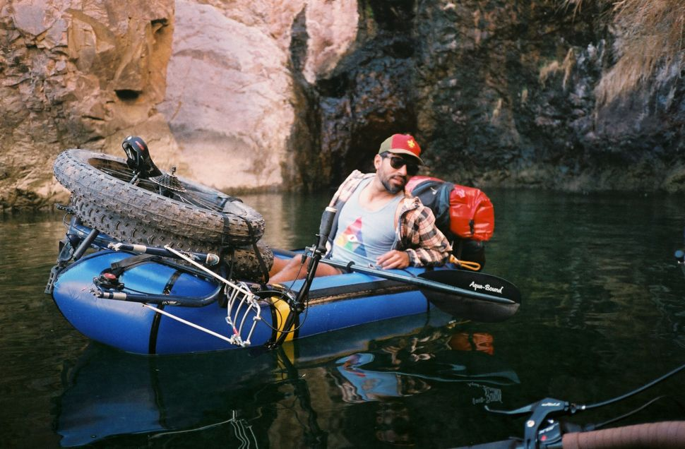 Via Guest Gallery Ty Hathaway Bike Pack Rafting In Arizona