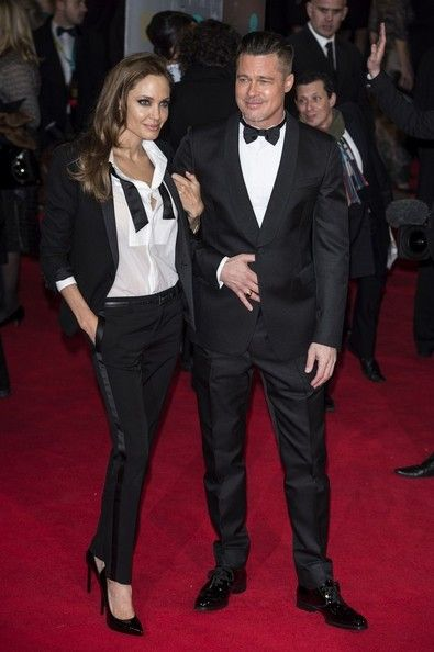Brad Pitt - Red Carpet Arrivals at the BAFTAs — Part 2