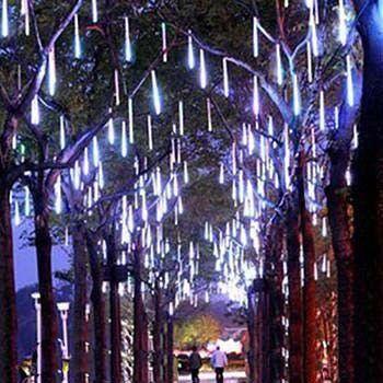 Snow Fall Led Lights Set Extension Plug Included Ziegelsteine Lichterkette Led