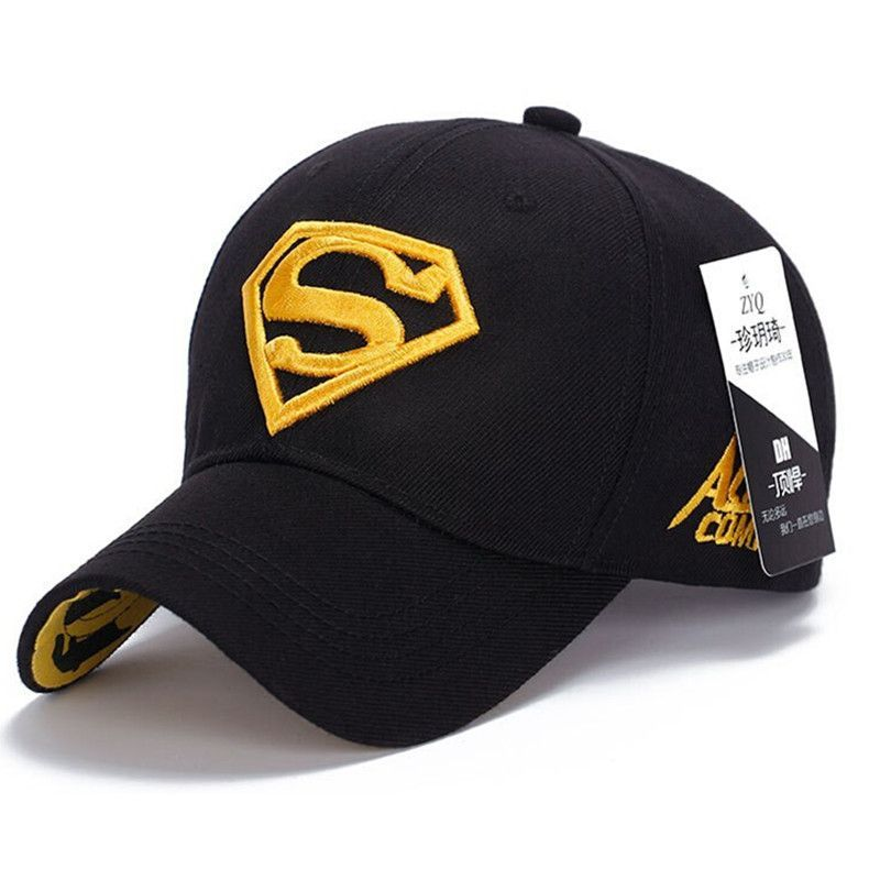 34aa3d43df7 2015 Brand Superman Baseball Cap Unisex Adjustable Cotton Snapback Caps Men  Sport Hats for Women Outdoor Sun Hat