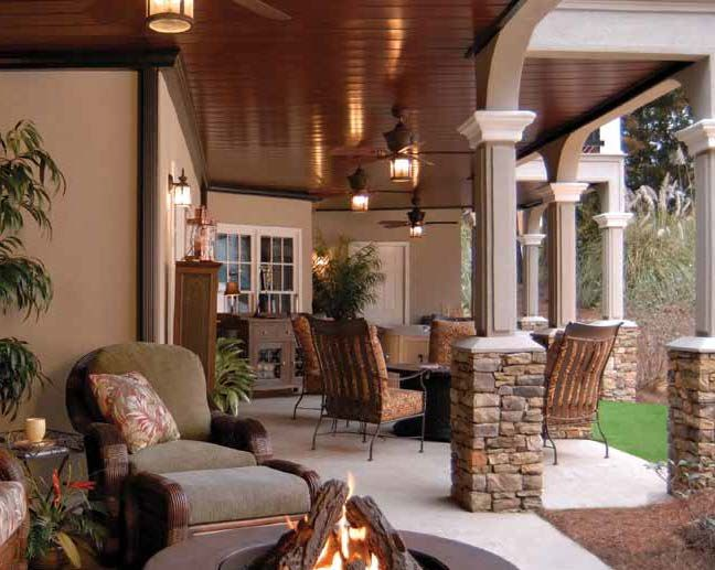 Ultimate underdeck create a whole room under your for Under porch ideas