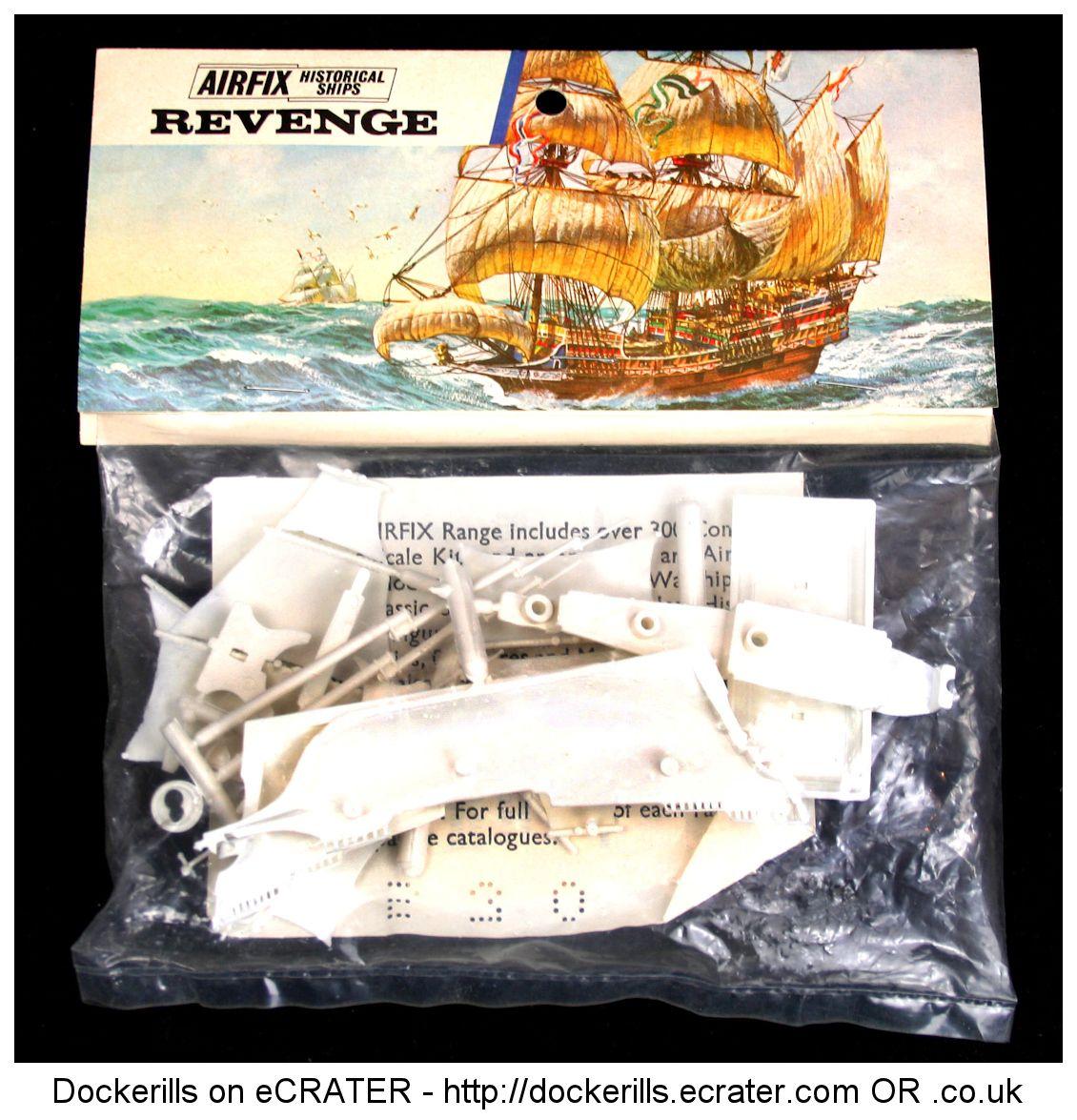 Airfix Revenge Vintage Type 3 Blue Stripe Bag Kit With Images