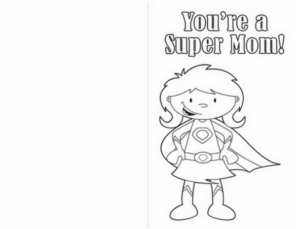 Printable Mothers Day Card For Children Free Printable Mothers Day