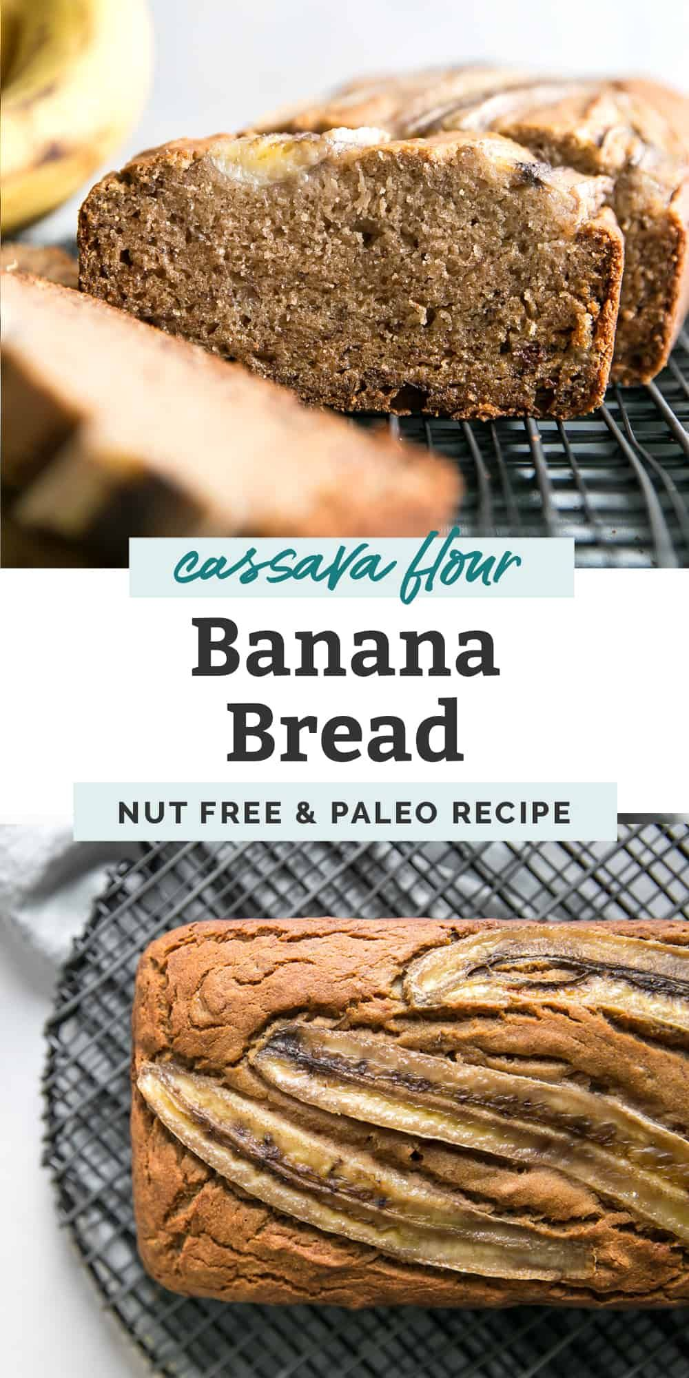 The Best Cassava Flour Banana Bread Fit Mitten Kitchen Recipe In 2020 Flours Banana Bread Sweet Banana Bread Paleo Banana Bread Recipe