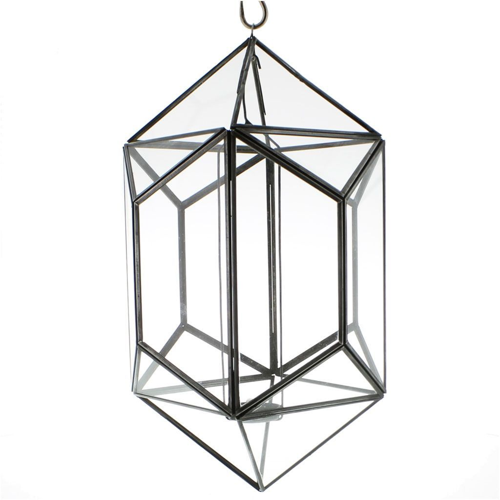 Pollux hanging glass polygon products