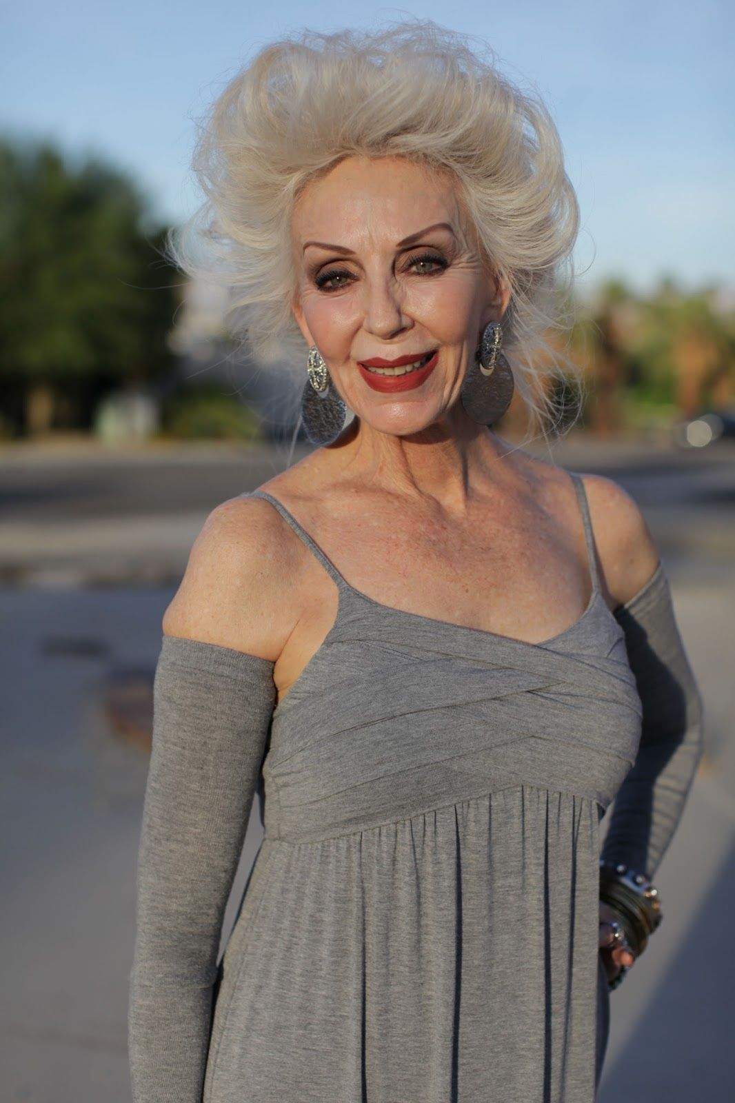 ADVANCED STYLE: Advanced Style in Palm Springs | Haircuts ...