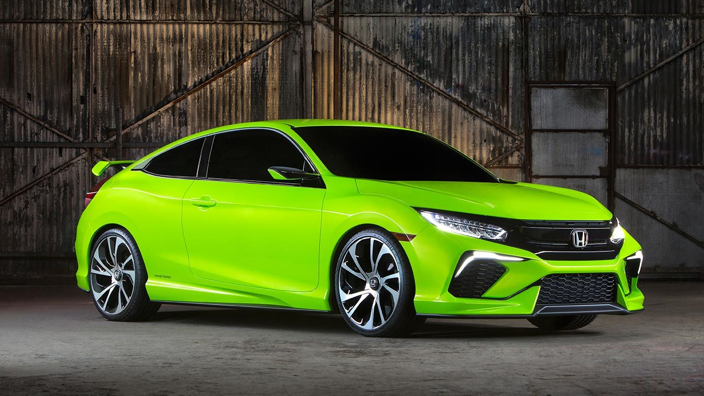 2016 Honda Civic Concept ficial Site