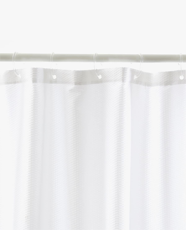 Seersucker Shower Curtain Zara Home Curtains Shower Curtain