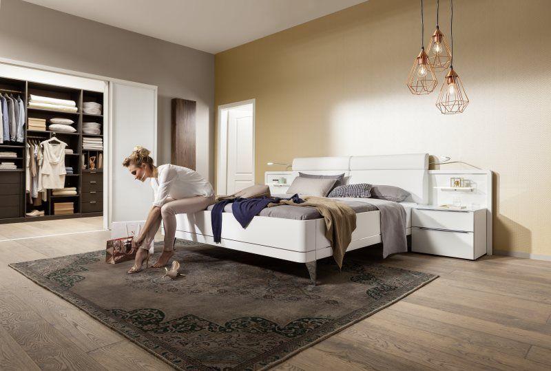 Bahia Bettanlage mit Paneelaufsatz Polarweiß Galerie - Nolte - nolte möbel schlafzimmer