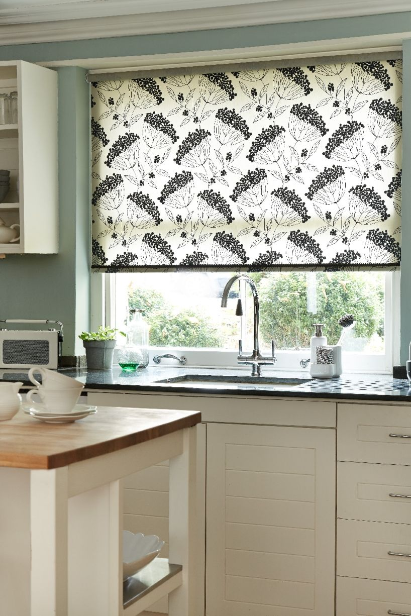 Kitchen window kitchen blinds  our roller blind range has many different patterns and styles for
