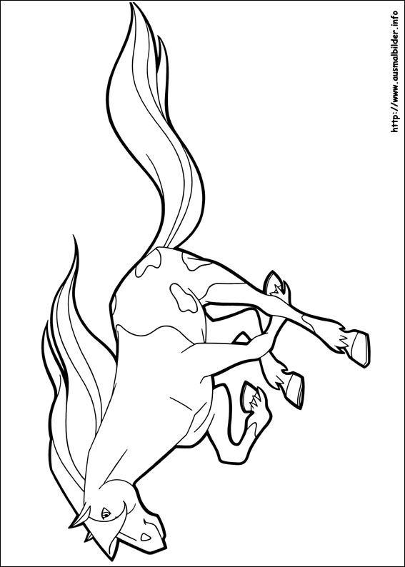 Horseland malvorlagen | Dessin