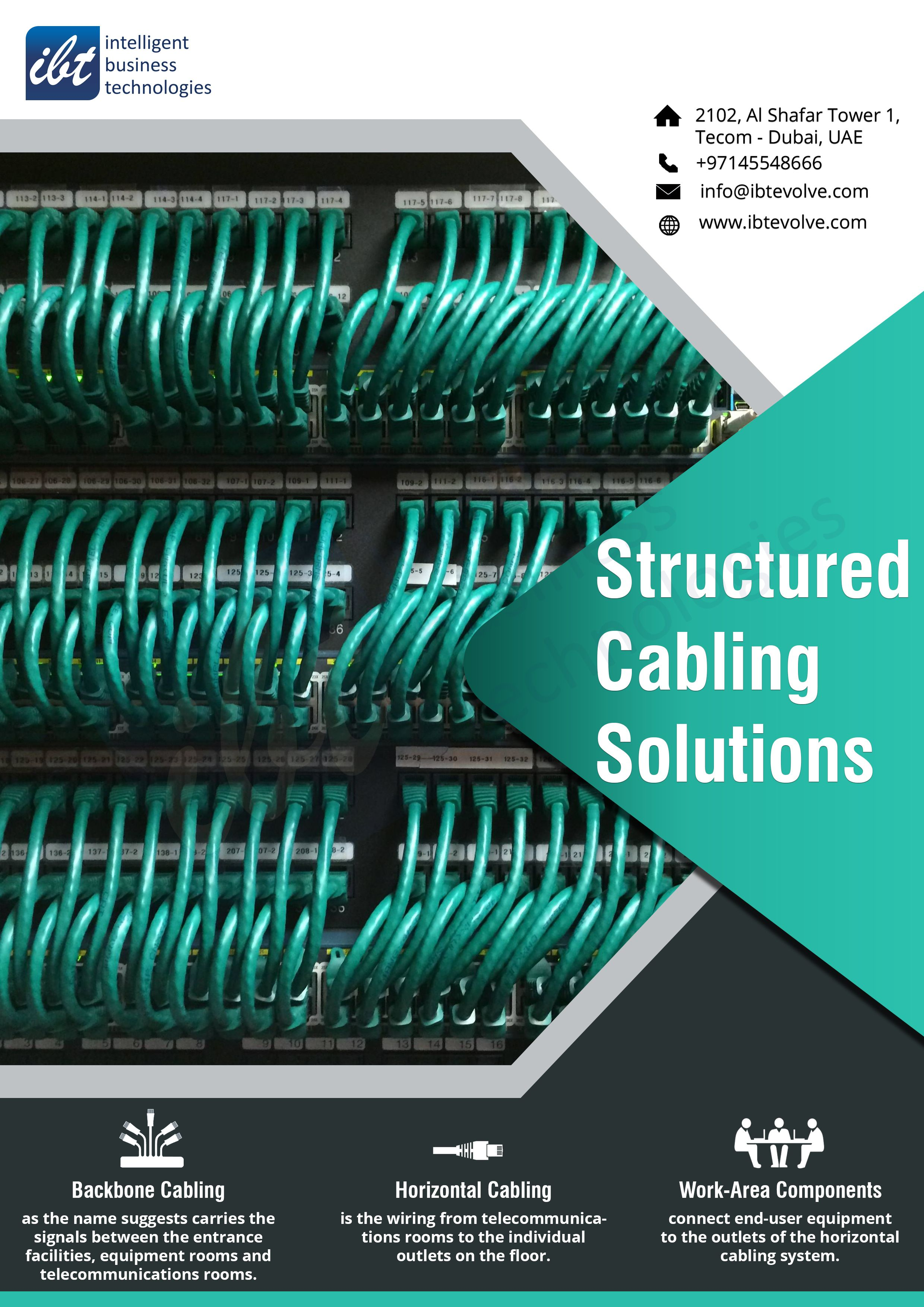 Structured Cabling Solutions Structured Cabling Technology Solutions Solutions
