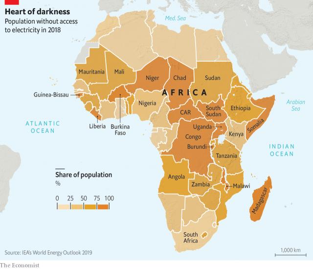 Geofactualidades Um continente na penumbra em 2020