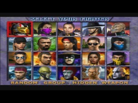 Mortal Kombat Gold Playthrough Sega Dreamcast Youtube