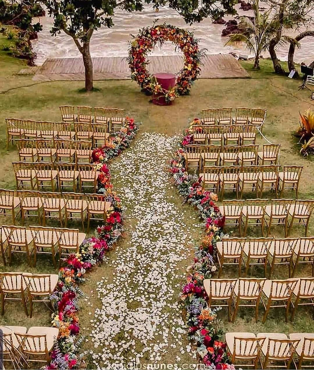 Weddings Brides On Instagram That Wonderful Outdoor Setting