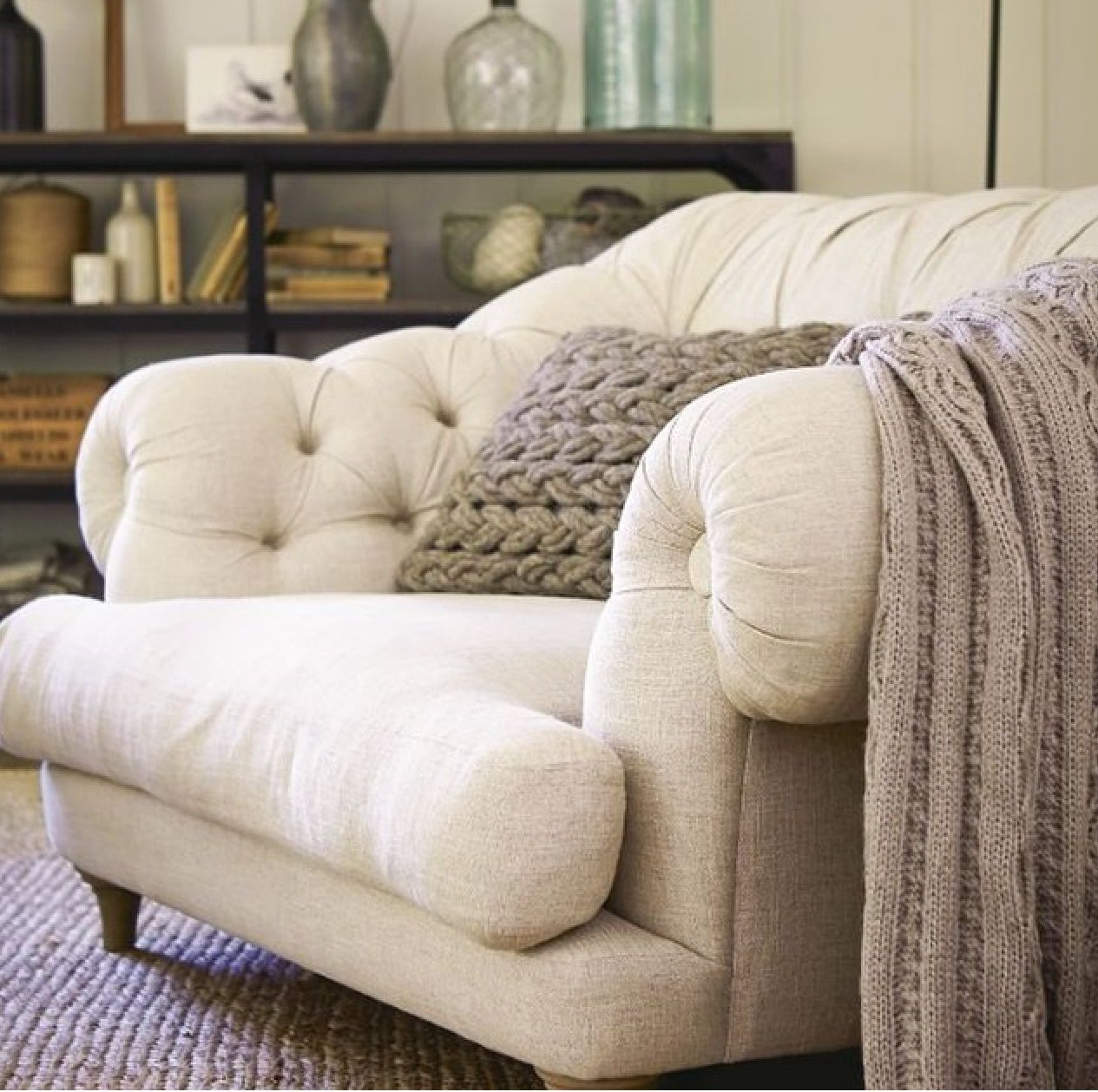 Tufted chair Tufted chair For the