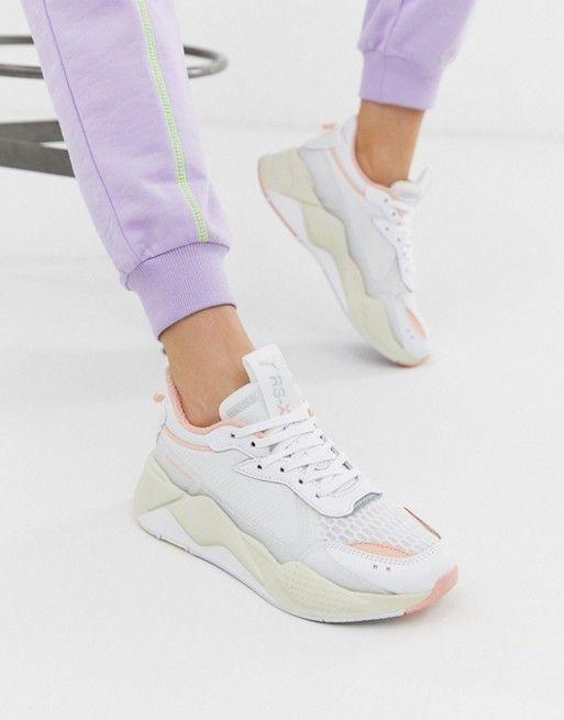 Puma Rs-X Tech trainers | Trainers women, White trainers ...