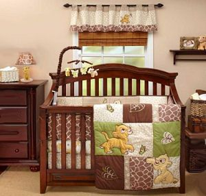Lion King Baby Crib Bedding Set For A Boy Or Girl Jungle