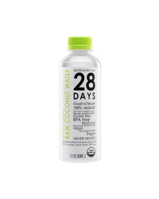 28DAYS100%Organic coconutwater